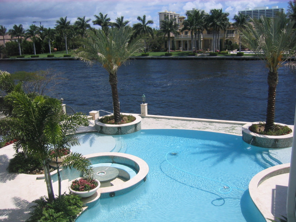 Pool construction in ground pool for Swimming pool trade show florida