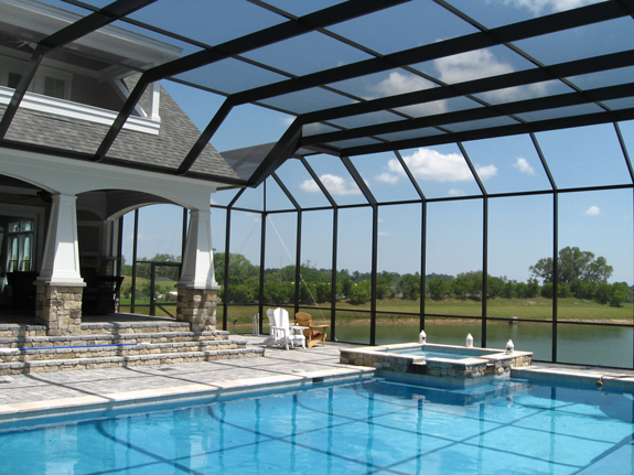Patio Pool Screen Enclosure