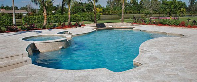 Pool construction in ground pool for Pool design miami